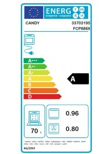 CANDY FCP886X
