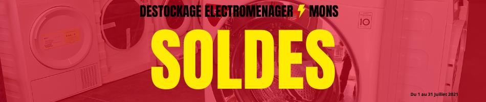 Soldes - Déstockage électroménagers Mons